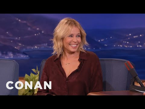 Chelsea Handler Challenges Conan To Face His Fears  - CONAN on TBS