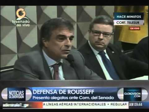 Abogado Cardozo: Hay ilegalidad en solicitud de juicio contra Dilma Rousseff