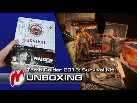 ❐ Tomb Raider (2013) — Распаковка: Survival Kit + коды