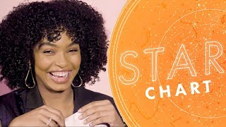 Can She Guess Yara Shahidi's Zodiac Sign? | Star Chart with Aliza Kelly