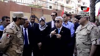 افتتاح «ميدان رماية» داخل مدرسة بورسعيد الثانوية العسكري