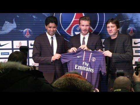 David Beckham a l'embarras du choix pour remplir sa retraite