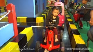 Naik Odong - odong & mobil mainan Anak Anak di Mall - Playing Kids Pool Fun Balls Playground