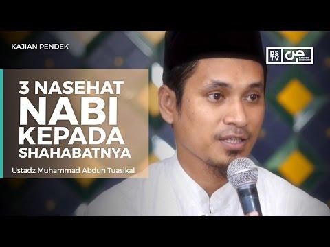 3 Nasihat Agar Istiqamah - Ustadz M Abduh Tuasikal