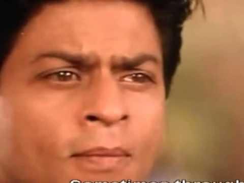 Kabhi Khushi Kabhie Gham   Sad Male Full Song HD With Lyrics   Kabhi Khushi Kabhie Gham   YouTubevia