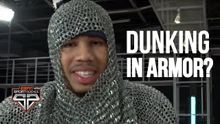 Jayson Tatum can still dunk in a suit of armor | Sport Science