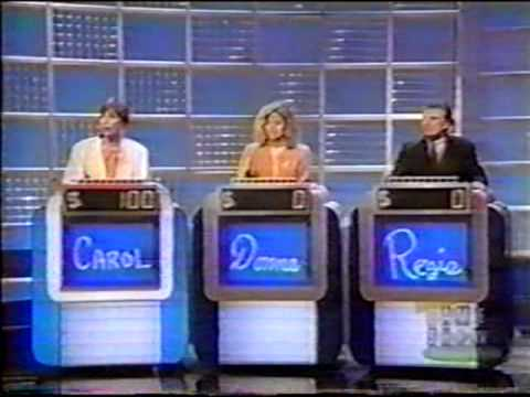 Celebrity Jeopardy 10/26/92 - Carol Burnett vs. Donna Mills vs. Regis Philbin - Part 1