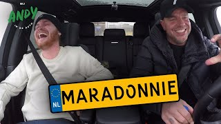 Maradonnie - Bij Andy in de auto!