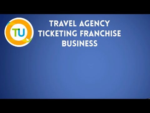 Travel Agency Ticketing Franchise Business by Travel Unlimited Online Video Presentation