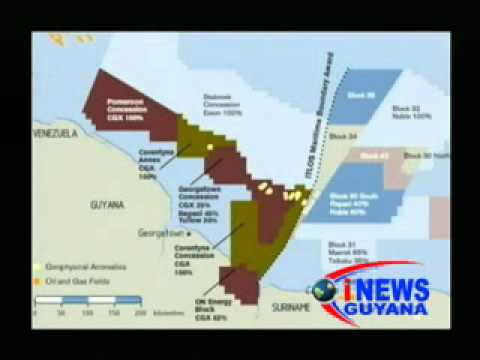 CGX has commenced drilling for oil in offshore Guyana. (February 13, 2012)