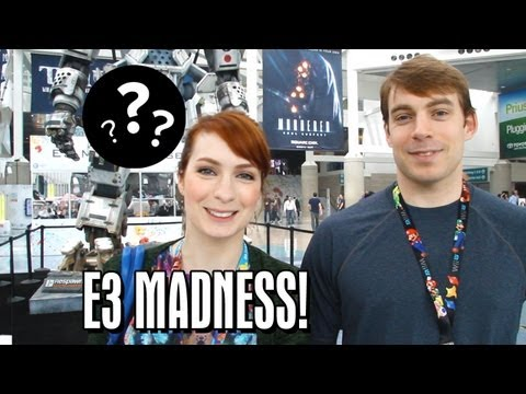 Guest Vlog #2: Felicia Day and Ryon Day Explore E3!