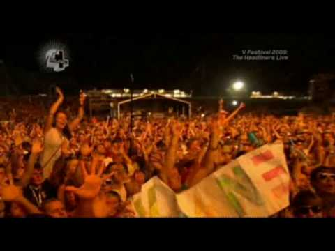 Keane - Bend and Break (Live V Festival 2009) (High Quality video) (HD)
