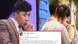 """Trấn Thành phản ứng cực """"bá đạo"""" khi ghen tuông vì Hari Won ôm ấp trai lạ trong MV mới..!"""