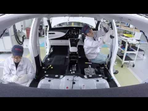 Mirai production line: finishing process