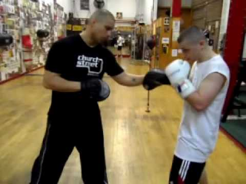 Focus Mitts Drills - Boxing Pad Work - Training Image 1