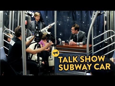 Comedy: Talk Show Subway Car