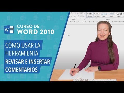 Word 2010: Insertar comentarios y revisar documentos