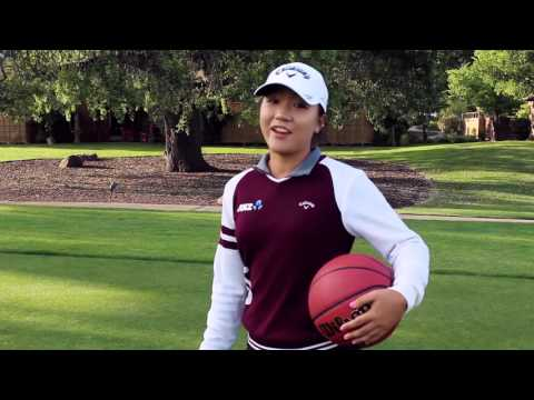 Lydia Ko at CordeValle Roots on the Warriors