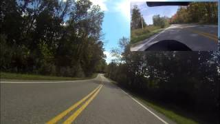 Motorcycle ride on Route 34, Kenna, WV  10/18/13