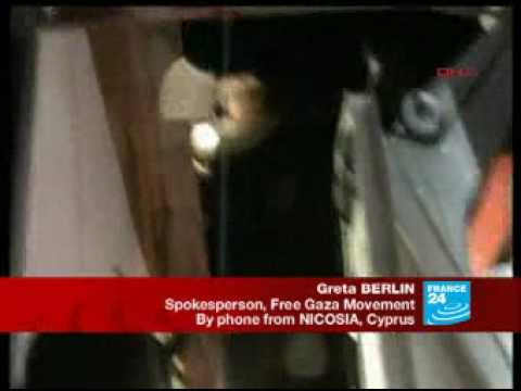 Greta Berlin from the Free Gaza Movement about the Gaza Flotilla Massacre