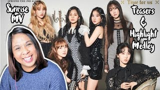 GFRIEND 'SUNRISE' MV + Teasers & Highlight Medley REACTION