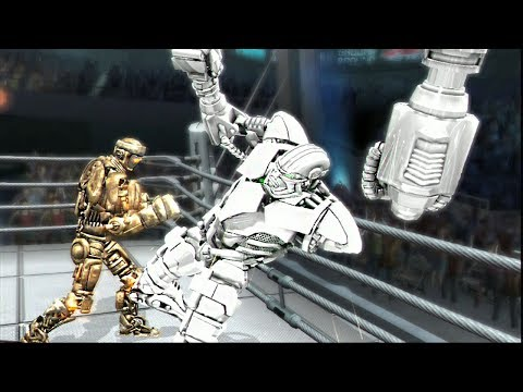 REAL STEEL THE VIDEO GAME [XBOX360/PS3]- THE BATTLE OF CHAMPIONS (ATOM vs ZEUS)