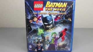 LEGO Batman The Movie DC Super Heroes Unite Blu-Ray Combo With Superman Minifigure Review
