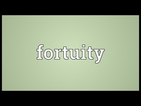 Header of fortuity