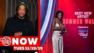 Jay Z Responds To Kaepernick's Workout, Summer Walker Claps Back + Disney+  Hacked! #hot97now