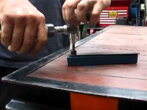 Rivet Nut Rivnut Demo Video Using Simple Home Made Tool