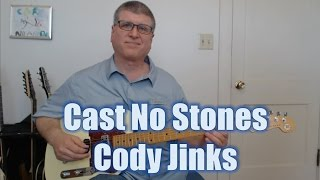 Country Rock Guitar Solo - Cody Jinks' Cast No Stones (with TAB)