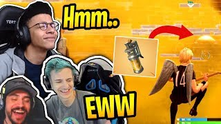 Streamers *NEW* Stink Bomb Gameplay! - Fortnite Best and Funny Moments