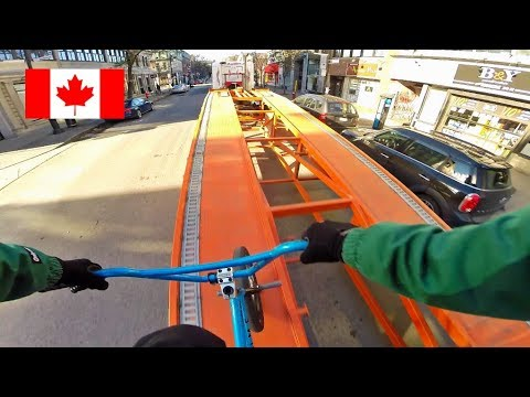 GoPro BMX Bike Riding in Montreal, Canada