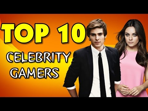 Top 10 Celebrities Who Are Avid Video Gamers
