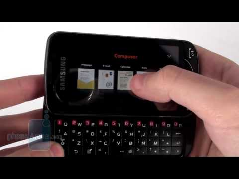 Samsung OmniaPRO B7610 Review