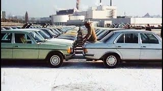 1976 Mercedes-Benz w123 - the new standard of the 200 D - 280 E Sternfahrt'76