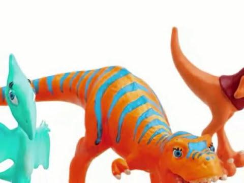 Dinosaurios Juguetes, dibujos animados para los niños