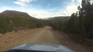 Echo Park Road and Echo Park, Dinosaur National Monument, Utah and Colorado