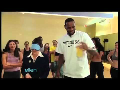 LeBron James  vitaminwater zero rhythm Taste Test
