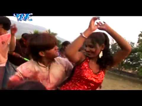 रंग दलवायेला भौजी - Holi Khelbe Re Murugwa | Diwakar Diwedi | Bhojpuri Holi Song video
