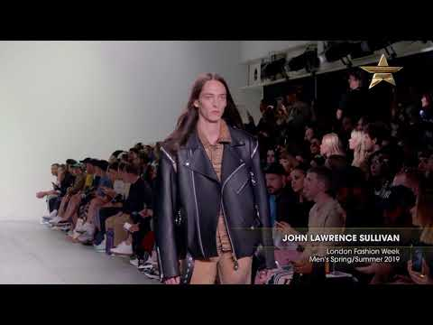 JOHN LAWRENCE SULLIVAN London Fashion Week Men's Spring/Summer 2019 Highlight