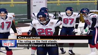ESPN NFL 2K5 | Packers vs Texans