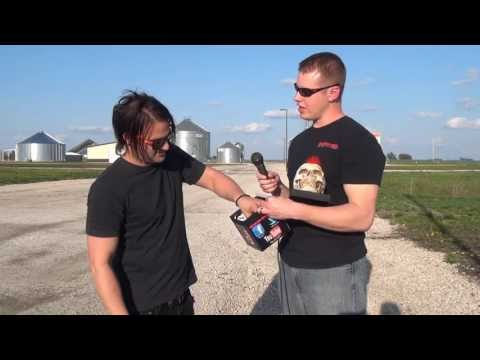 Mark Goodwin - Sick Puppies Interview at LAZERfest 2013 - Backstage Entertainment