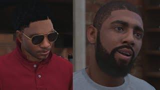 NBA 2K18 My Career - Kyrie Irving 1v1! Career High! PS4 Pro 4K Gameplay