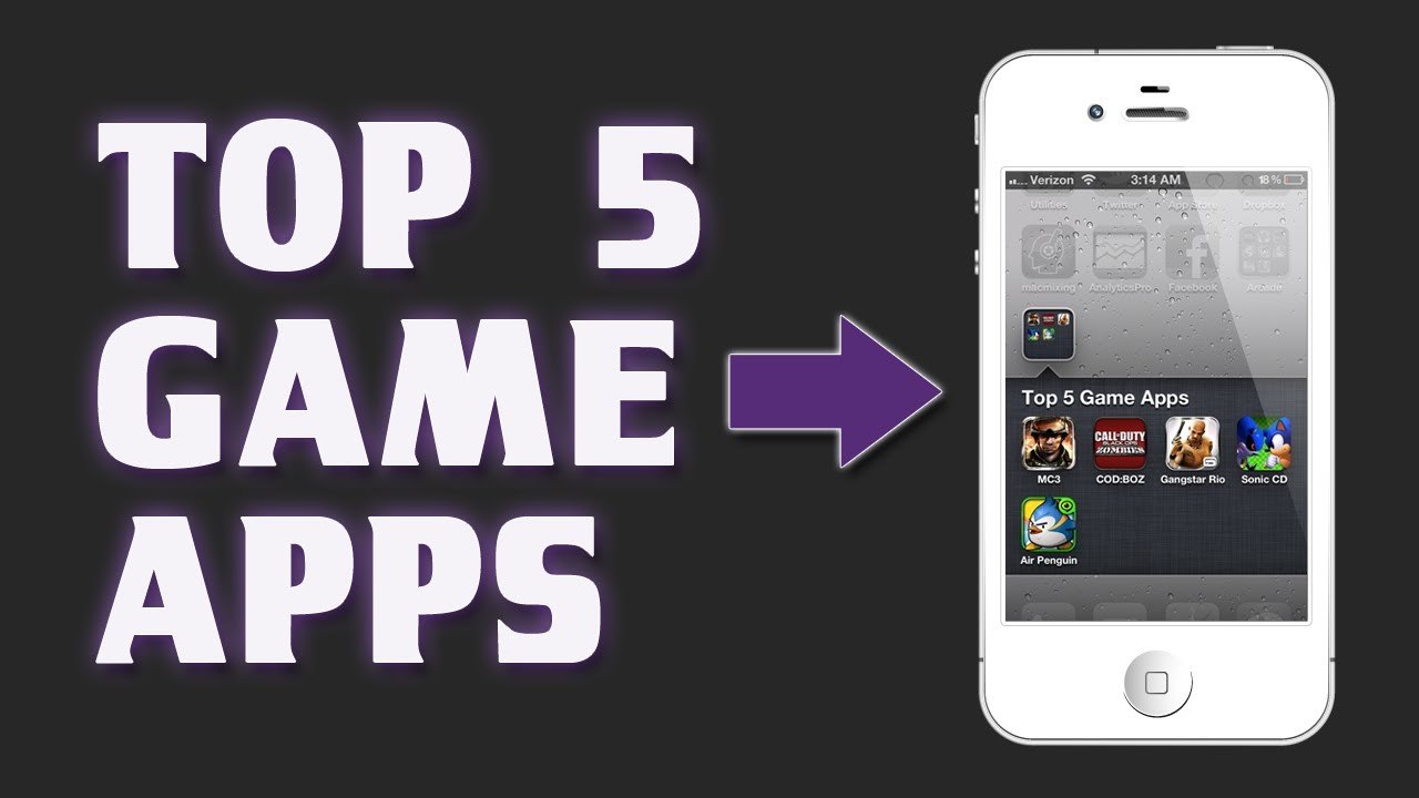 the best game apps for iphone