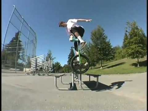 Dan Heaton Unicycling Video
