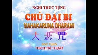 Tung Chú Đại Bi Có Chữ Thầy Thích Trí Thoát