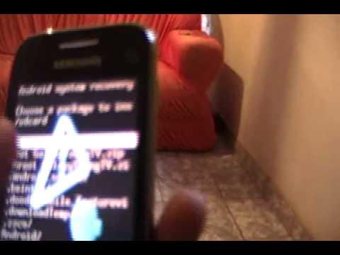 Samsung Galaxy Y Tv s5367 Como fazer root Root Passo a Passo #2  REUPADO!