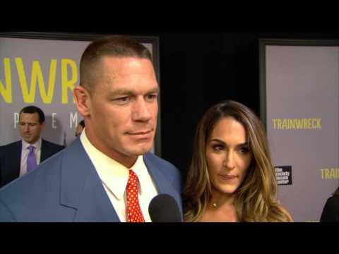 Trainwreck: John Cena & Nikki Bella World Premiere red Carpet Interview