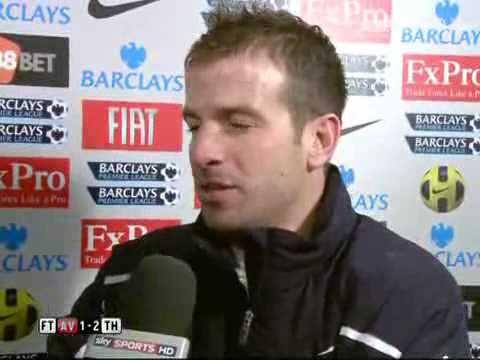 Aston Villa vs Tottenham 1-2 - Rafael Van Der Vaart (26-12-10)